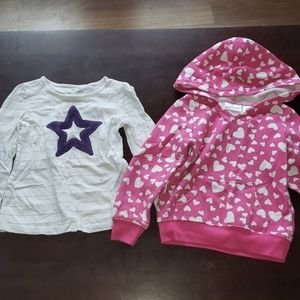 3t Jumping Beans long sleeve tops
